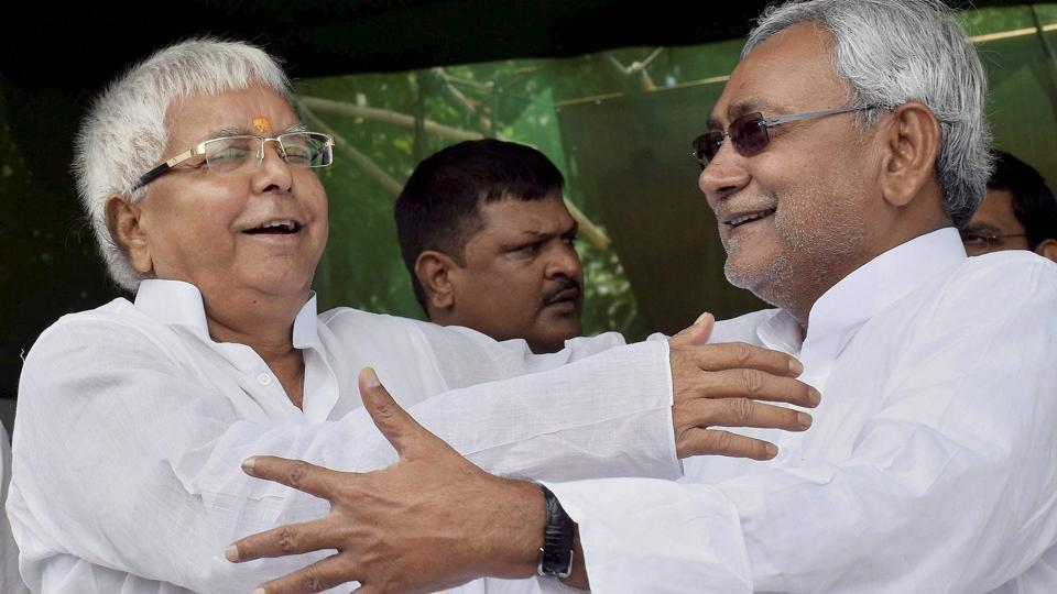 Lalu Prasad,Nitish Kumar,Rahul Gandhi
