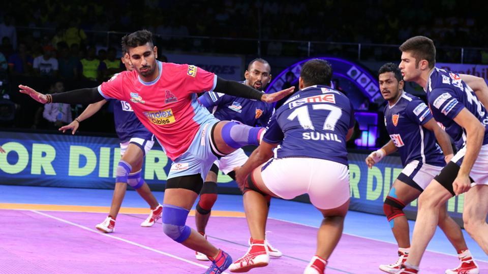 Dabang Delhi,Jaipur Pink Panthers,Pro Kabaddi League