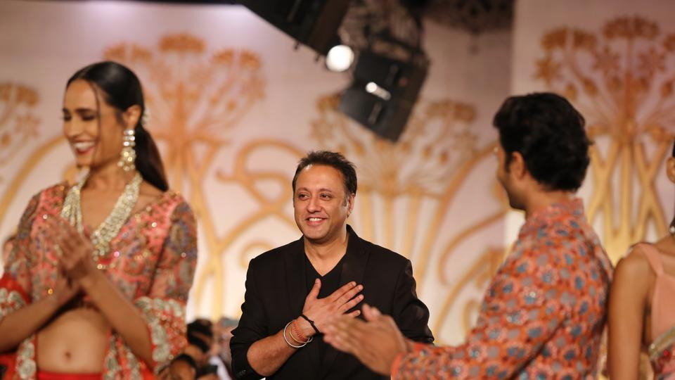 Varun Bahl taking a bow after the show.