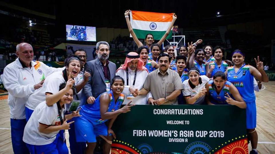 India are now promoted to Division A for the next edition of the FIBA Women's Asia Cup.