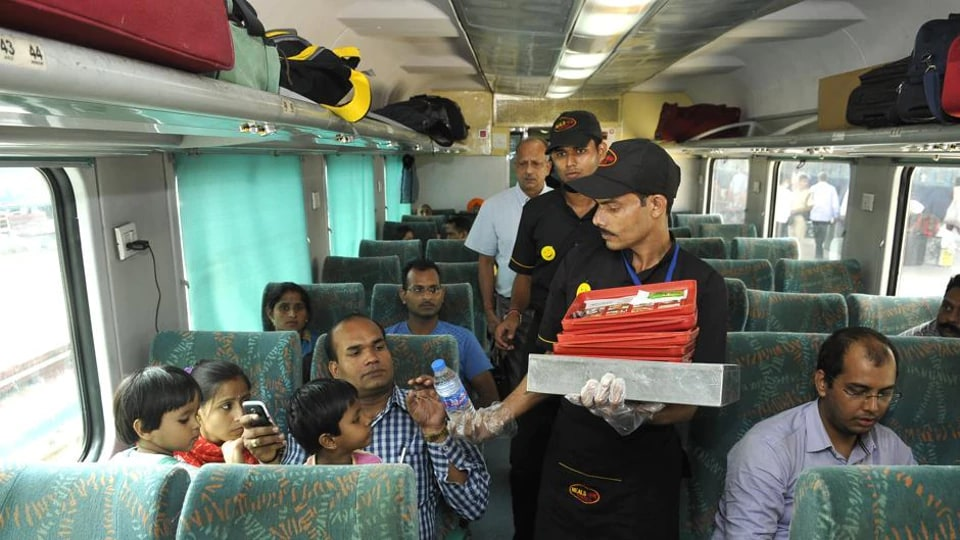 Passengers  will not be allowed to change their option at any point in time, once they opt for the catering service at the time of booking.