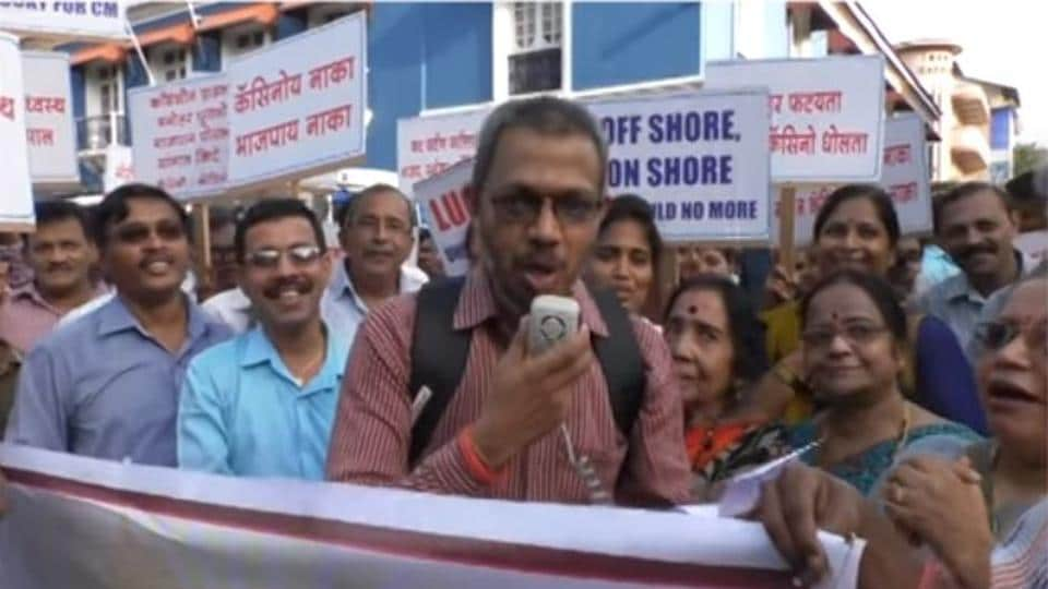 The Goa Suraksha Manch has used a the widely-shared 'Sonu song' routine to question CM Manohar Parrikar over his purported support to casino lobby and failure of governance.