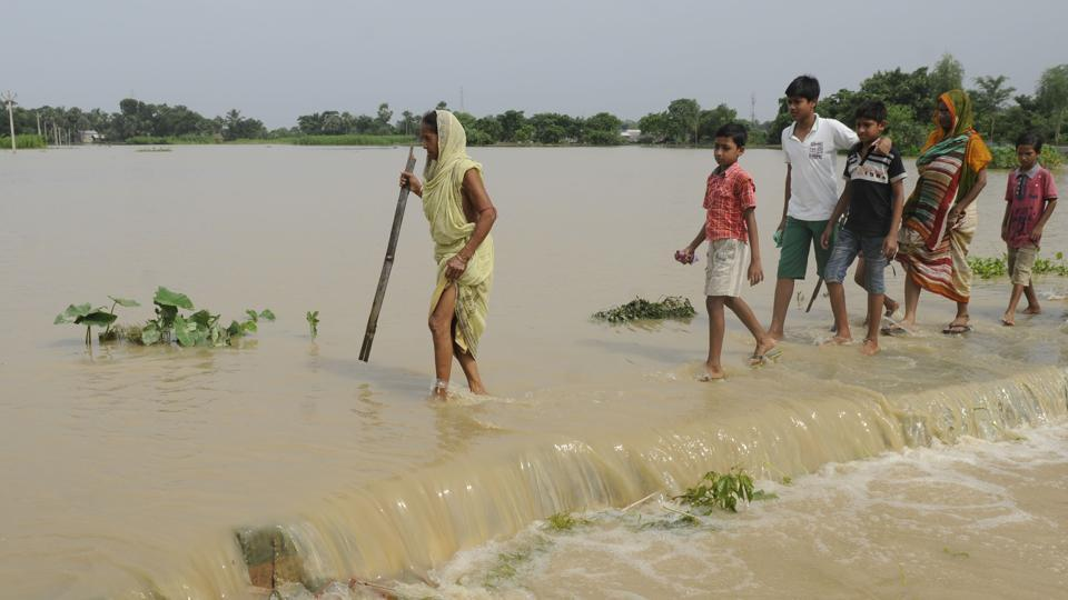 The flood situation in West Bengal has become worse after the Damodar Valley Corporation released more water from its dams.
