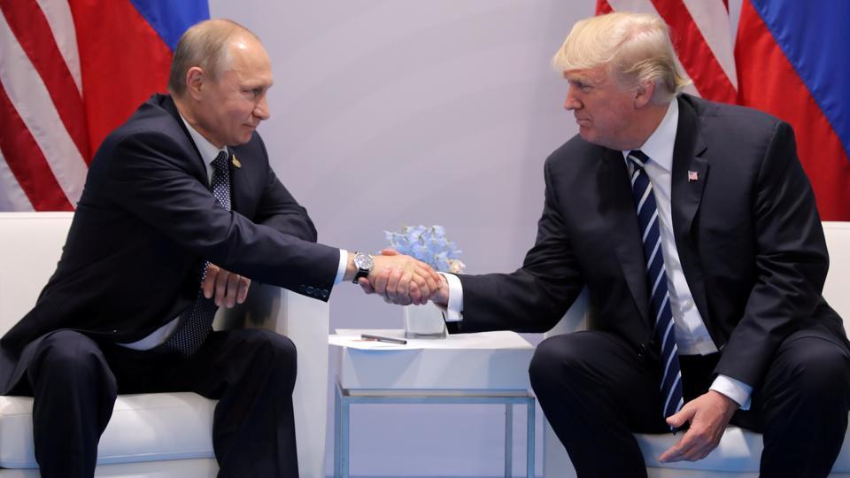 US President Donald Trump,Russian President Vladimir Putin,S Senate