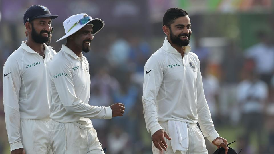 India thrashed Sri Lanka by 304 runs in Galle Test to take a 1-0 lead in the three-match series. (AFP)