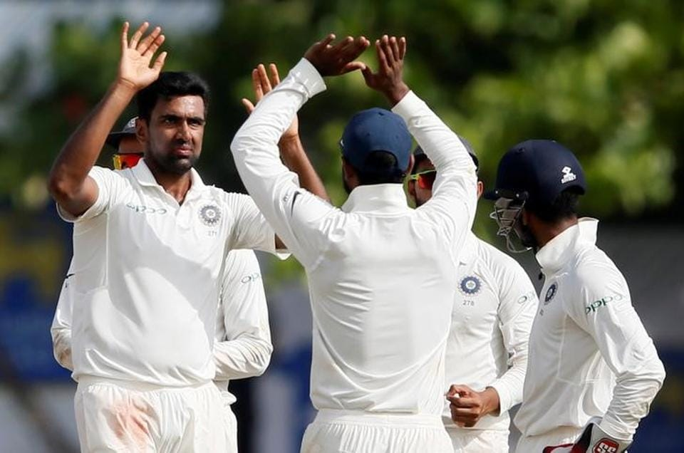 India beat Sri Lanka by 304 runs in first Test match at Galle to take a 1-0 lead in the 3-match Test series. Get full cricket score of India vs Sri Lanka, 1st Test, Day 4 from Galle here.