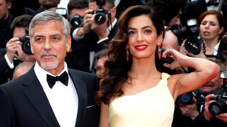 George Clooney,Amal Clooney,Babies