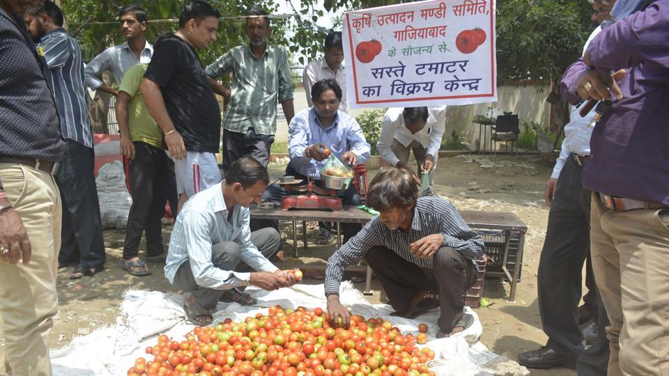 Ghaziabad,tomato,costly