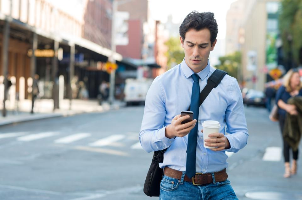 A University of Maryland study found that in the US in the period 2010-11, more than 11,000 injuries resulted from phone-related distraction while walking.