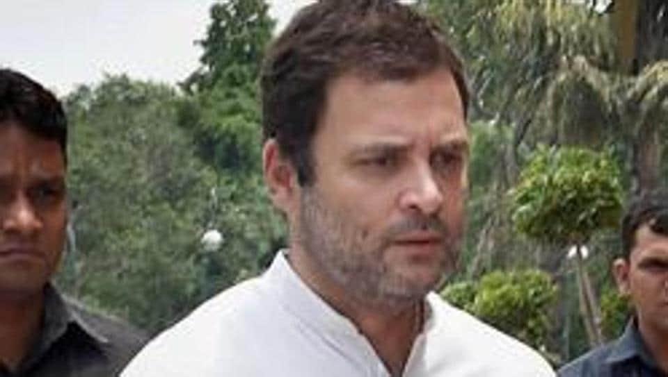 Rahul was addressing a rally at Nagarnar in Maoist-affected Bastar region.
