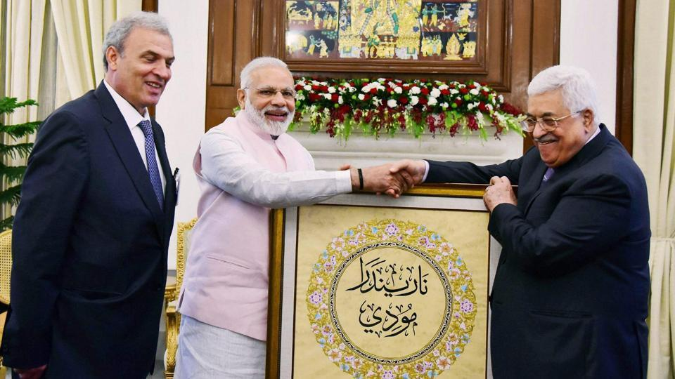 """The ambassador was talking to reporters on the sidelines of an all-party meeting organised by Indo-Arab League to express solidarity with Palestinians and to condemn the """"Israeli atrocities""""."""