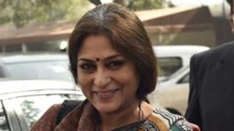 BJP's Rajya Sabha MP Roopa Ganguly.