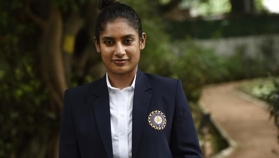 Indian women's cricket team captain Mithali Raj poses for Hindustan Times in New Delhi, after her return from the 2017 Women's Cricket World Cup.