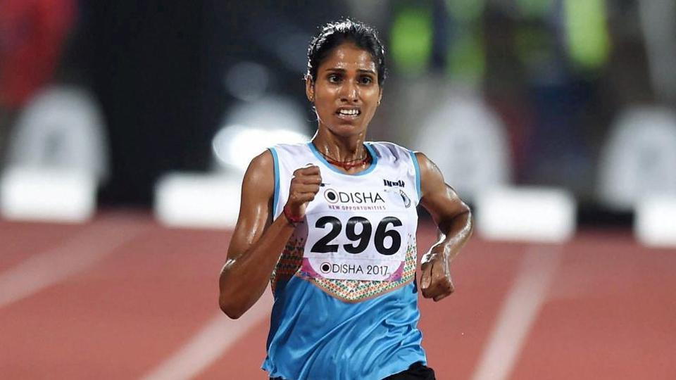 Sudha Singh's name surprisingly figured among the Indian participants in the entry list at the World Athletics Championship.