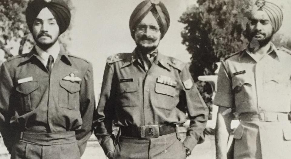 Kler military family,Indian army,Madeep Singh Bajwa