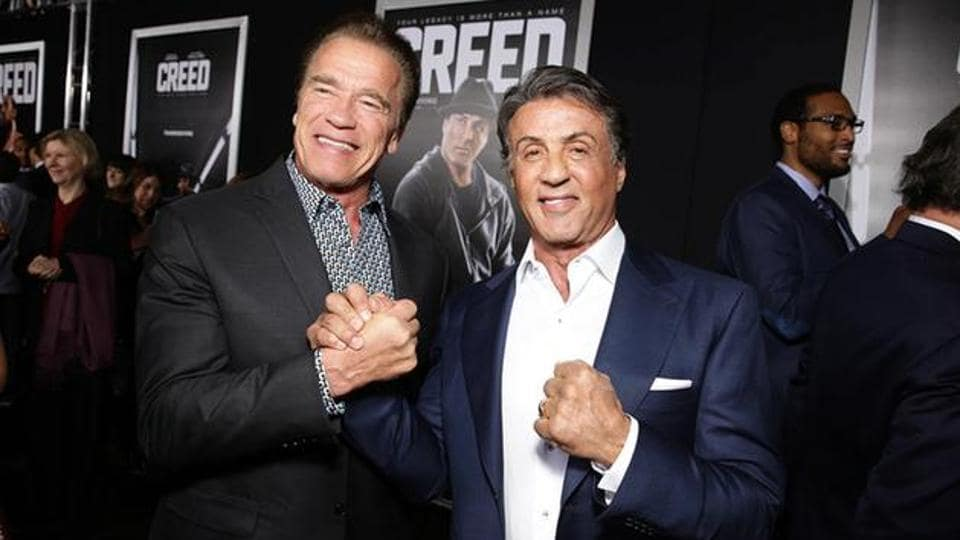 Arnold Schwarzenegger and Sylvester Stallone were seen together in The Expendables 3 last.