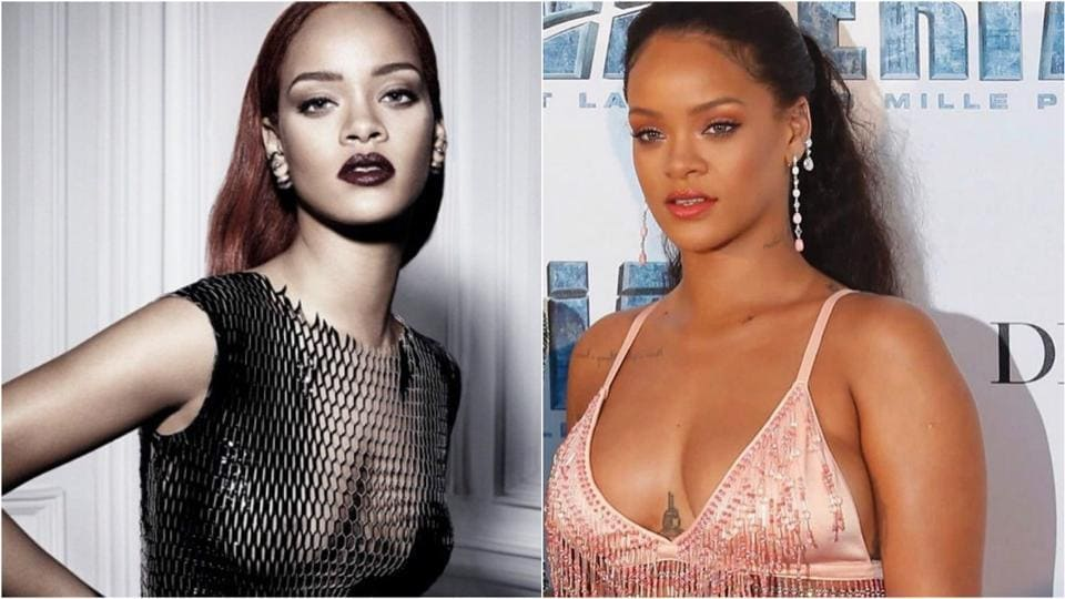 Rihanna looks so much different from her old self.