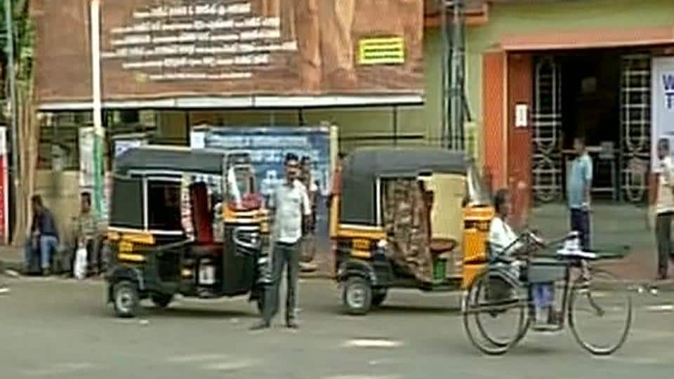 The BJP's statewide strike -- called to protest the murder of an RSS worker in Thiruvananthapuram --- appeared to be successful, with buses staying off the road. (ANI Photo/Twitter)