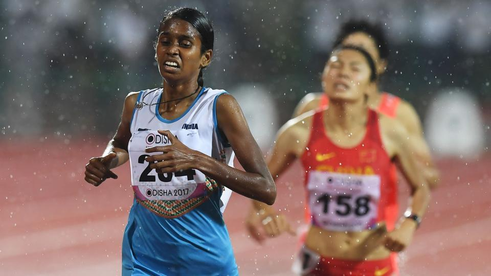 Indian athlete PUChitra will not be able to participate in the upcoming World Championships.