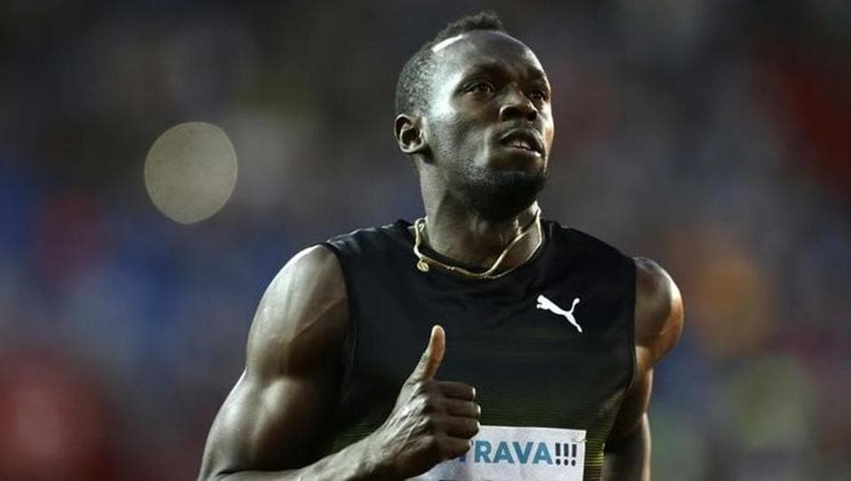 Usain Bolt could win his fourth 100m world title at the IAAF World Championships in London.