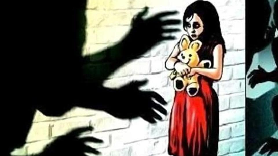 Two girls were raped allegedly by some unknown men five days ago.