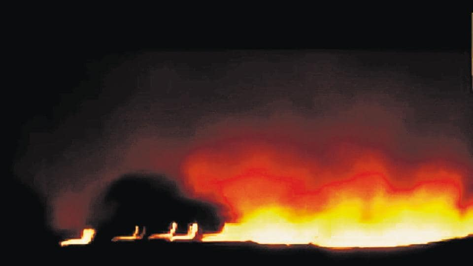 Indian Army,Pulgaon ammo depot,Explosion