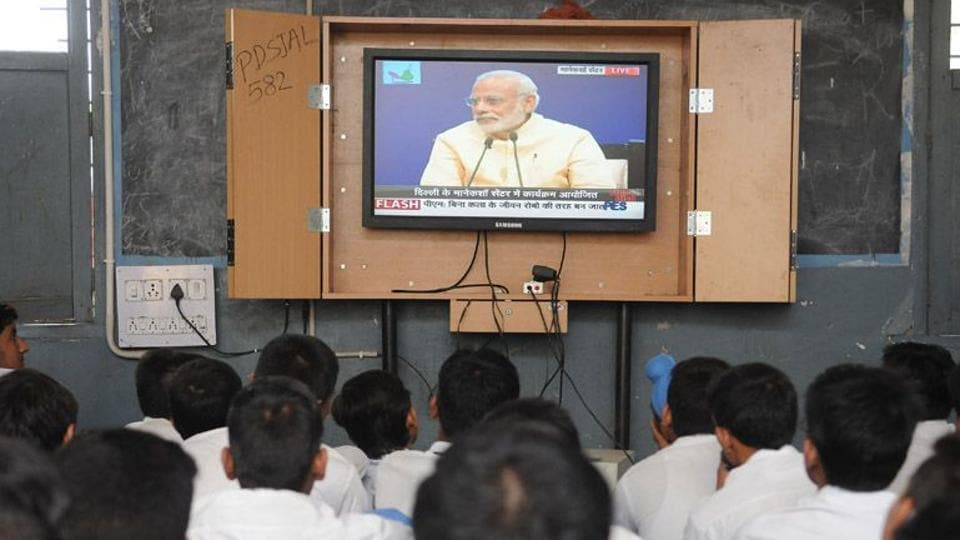 Modi hails Mahatma, says 2017-22 decisive for 'New India'