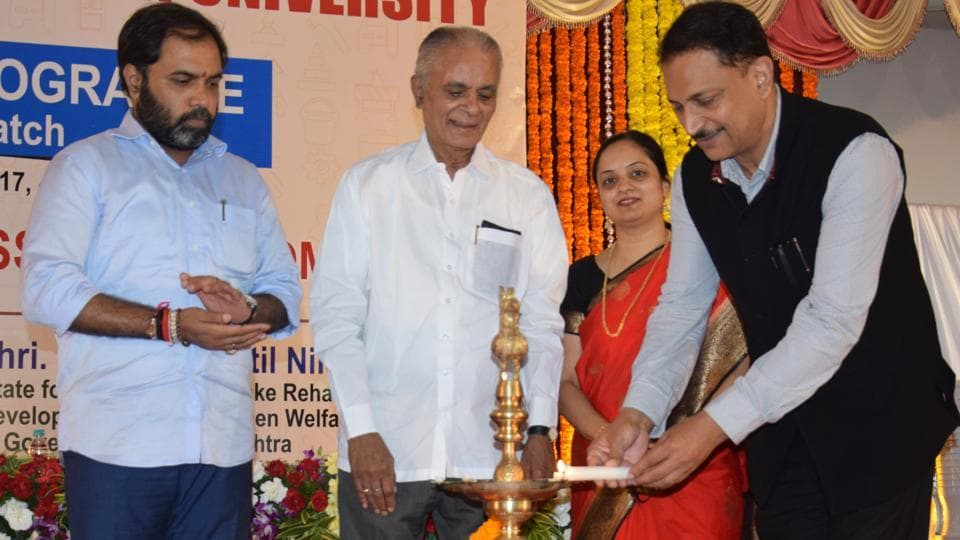 Pune,Symbiosis Skills and Open University,Union minister of state for skill development and entrepreneurship