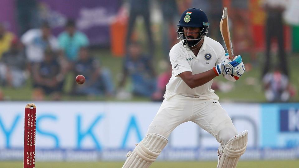Indian batsman Cheteshwar Pujara had made 153 against SriLanka in the first Test in Galle.