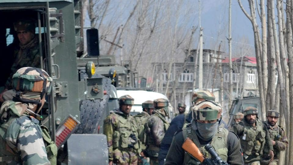 Jammu and kashmir,Encounter,Militants