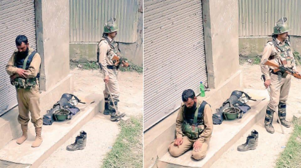 Srinagar unit of the Central Reserve Police Force,twitter,Burhan Wani