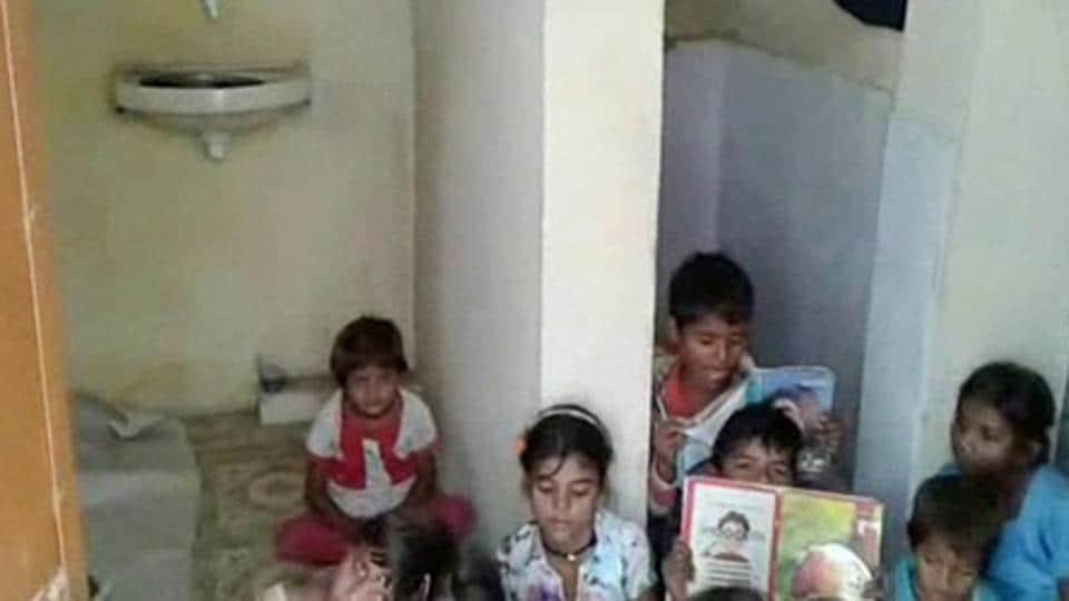Madhya Pradesh,Primary school,School building