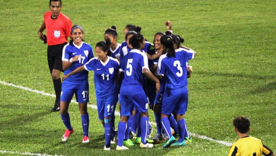 Riding on Pyari Xaxa's brilliant performance, India defeated Malaysia 2-0 in international women's football friendly.