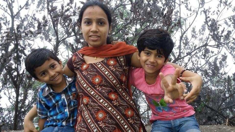 Sheetal Rathod, 28, a mother of two, was the breadwinner of the family since the last two years.