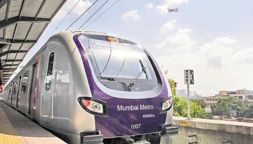 Mumbai metro,metro @B,juhu