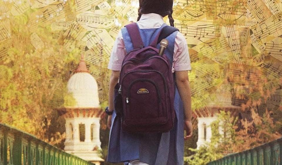 A new poster of Secret Superstar shows Zaira Wasim as a schoolgirl.