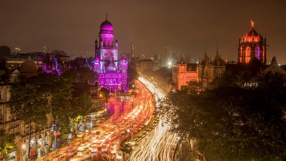 The BMC building, a heritage structure located opposite the Chhatrapati Shivaji Maharaj Terminus, turned 124 on July 31.  (Kunal Patil/HT Photo)