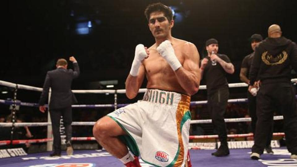 Vijender Singh has remained unbeaten in his eight professional bouts so far and his next fight will be against Zulpikar Maimaitiali.