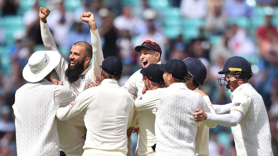 Riding on Moeen Ali's hattrick, England crushed South Africa by 239 runs to to go 2-1 up in the four-Test series. Follow the full cricket score of England vs South Africa, 3rd Test here