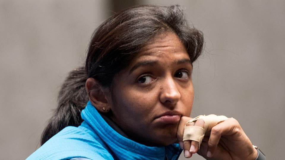 Harmanpreet Kaur has been ruled out of the Kia Super league T20 in England due to a shoulder injury she sustained in the ICCWomen's World Cup 2017.