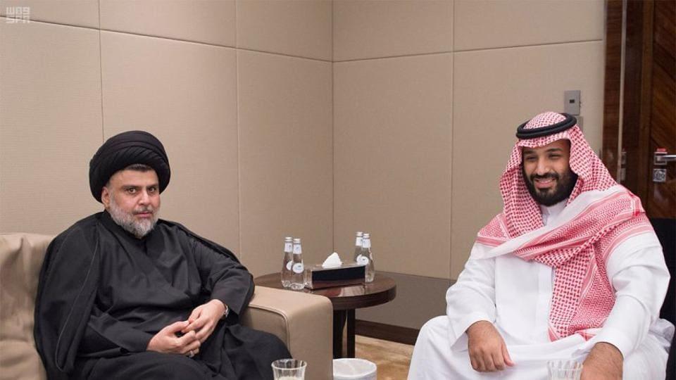 Iraq Shia cleric Moqtada al-Sadr,Saudi Arabia,crown prince Mohammed bin Salman