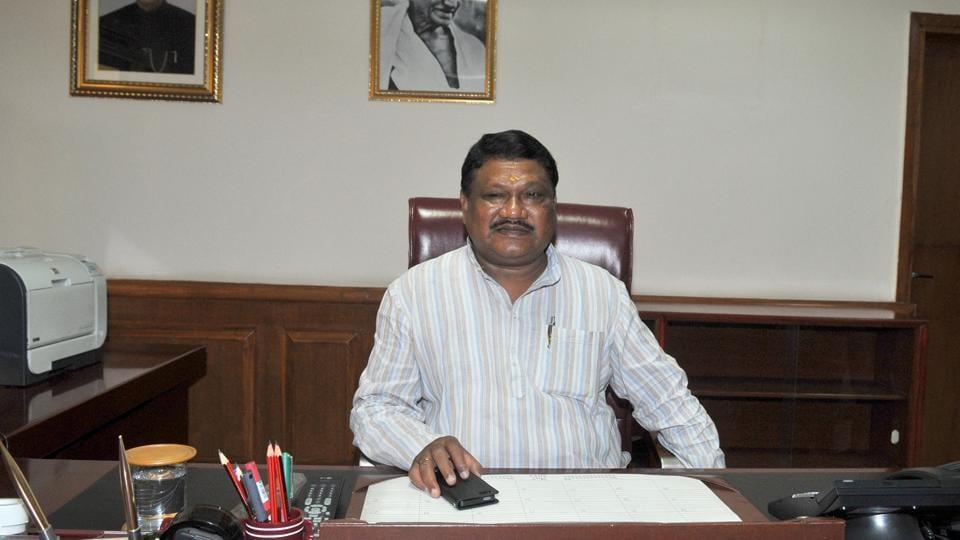 Union tribal affairs minister Jual Oram.
