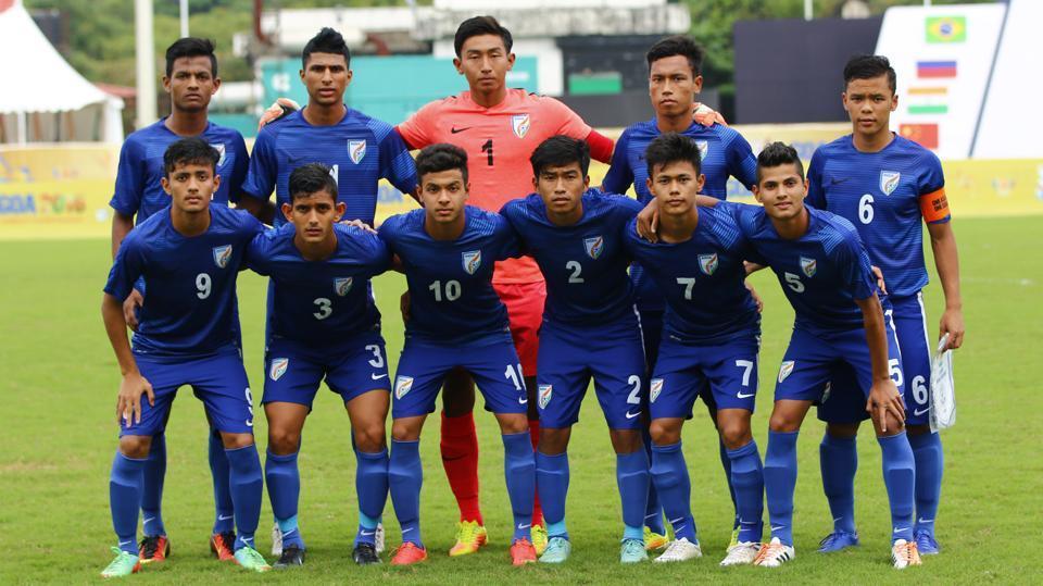 India U-17 football team,2017 FIFA U-17 World Cup,Torneo de 4 Naciones