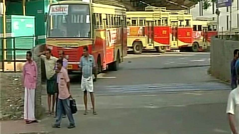 The BJP has called a statewide strike over the murder of an RSS worker in Thiruvananthapuram's Sreekaryam. (ANI Photo)