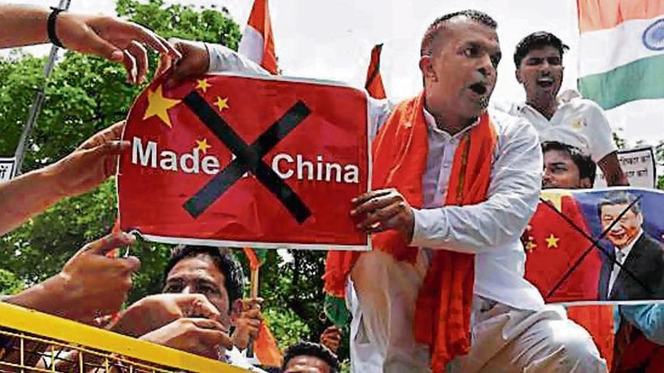 The Swadeshi Jagaran Manch is observing 2017 as 'anti-China year', and claims it has so far got around 'one crore people' to pledge that they would boycott Chinese products.