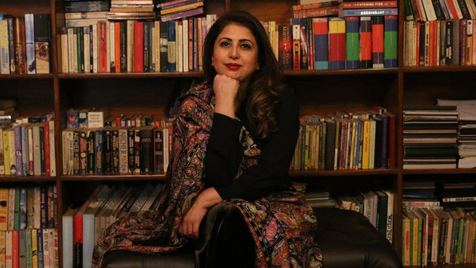 Pakistani author Faiqa Mansab.