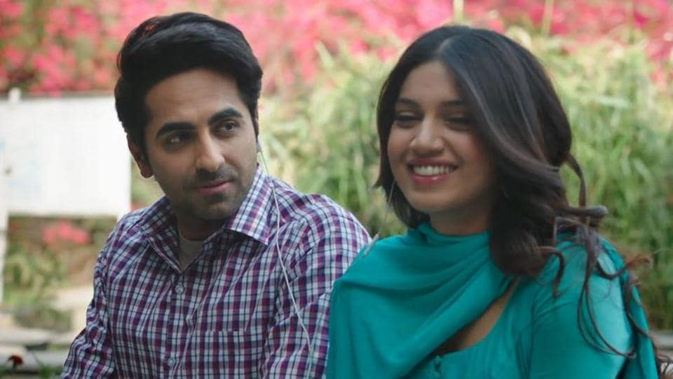 Ayushmann Khuranna and Bhumi Pednekar reunite for Shubh Mangal Saavdhan.
