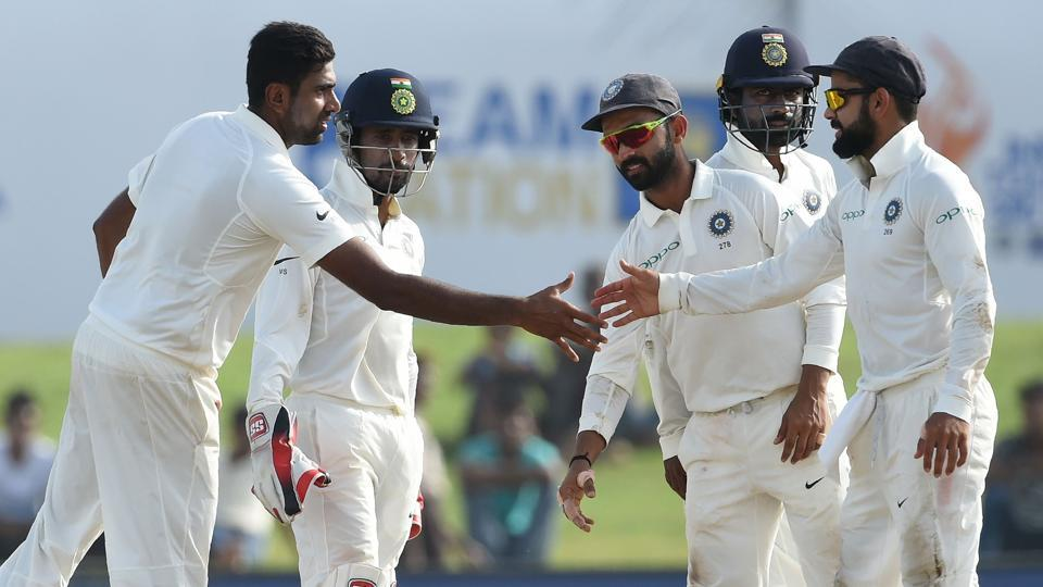 Ravichandran Ashwin moved to the second spot in the latest ICCrankings for bowlers while Ravindra Jadeja continued to maintan the top spot.