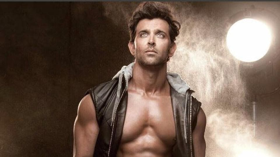 Hrithik Roshan strikes a pose in his Instagram post.
