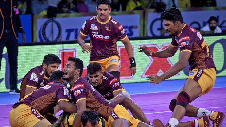 Dabang Delhi,Telugu Titans,UP Yoddha